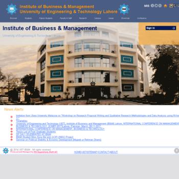 Ibm-uet.edu.pk thumbnail