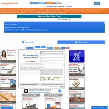 Ibpsclerk.testbag.com thumbnail