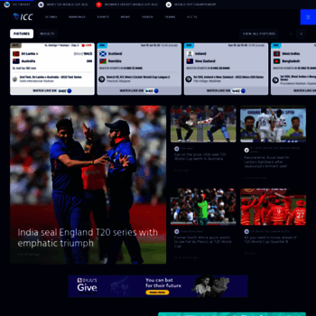 Icc-cricket.com thumbnail