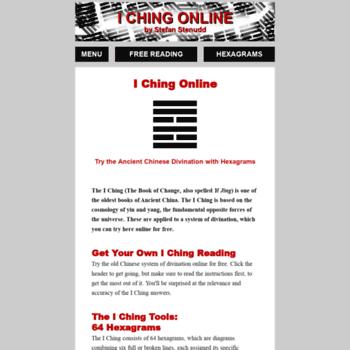 Iching-online.org thumbnail
