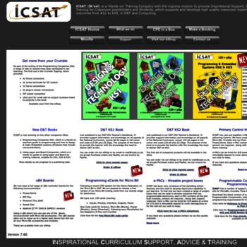 Icsat.co.uk thumbnail