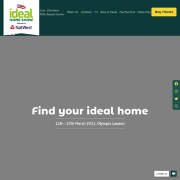 Idealhomeshow.co.uk thumbnail