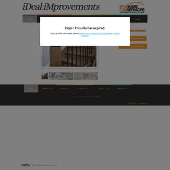 Idealimprovements.ca thumbnail