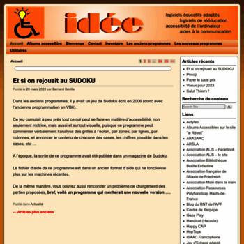 idee association.at WI. Association IDEE | Logiciels éducatifs