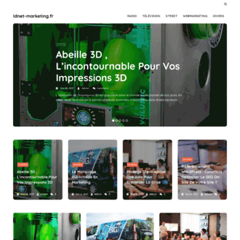 Idnet-marketing.fr thumbnail
