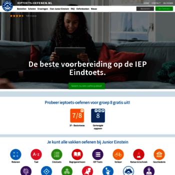 Ieptoets-oefenen.nl thumbnail