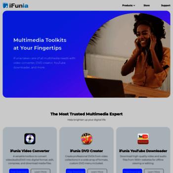 ifunia com at WI  iFunia - Free YouTube Downloader for Mac