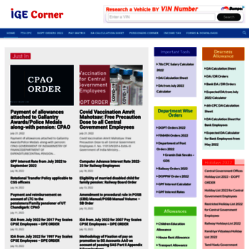 igecorner com at WI  CENTRAL GOVERNMENT EMPLOYEES NEWS