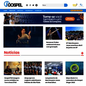 Igospel.com.br thumbnail