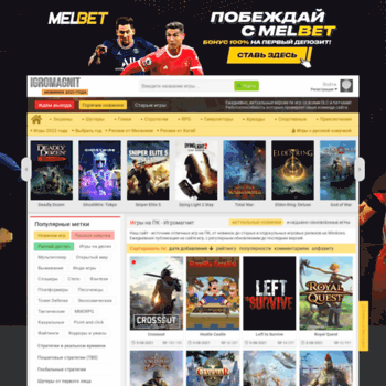 Веб сайт igromagnit.net
