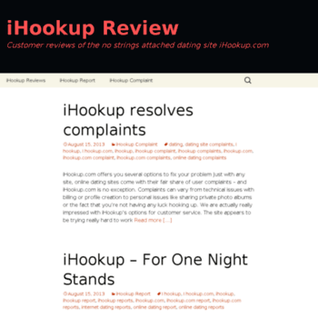 Ihookup com review