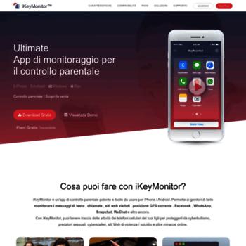 ikeymonitor it at WI  La migliore app di monitoraggio per iPhone e