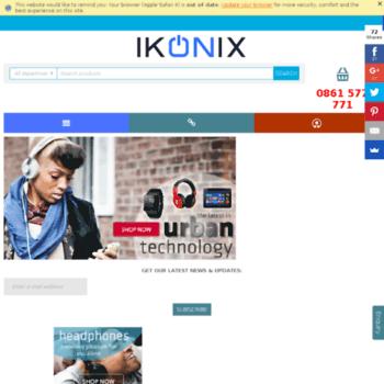 Ikonix.co.za thumbnail