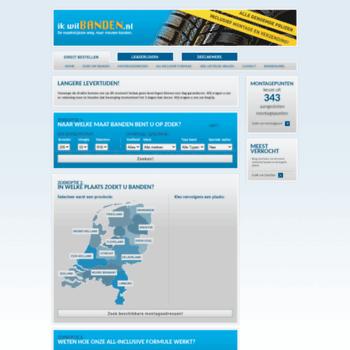 Ikwilbanden.nl thumbnail
