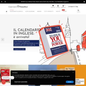 Calendario Filosofico 2020 Frasi.Ilcalendariofilosofico It At Wi Il Nuovo Calendario