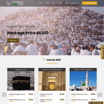 ilinktours com at WI  Best Hajj and Umrah Travel Agency All
