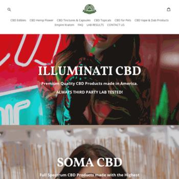 illuminati-cbd com at WI  illuminati-cbd