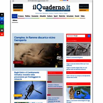 Ilquaderno.it thumbnail