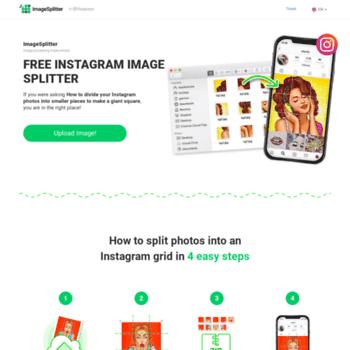 imagesplitter net at WI  Resize, convert, split, crop your