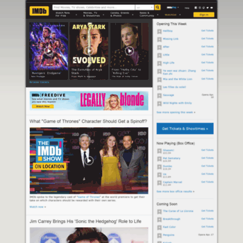 imdb co uk at WI  Ratings and Reviews for New Movies and TV