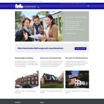 Immobilienservice-peters.de thumbnail
