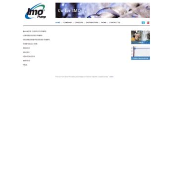 imo se at WI  IMO - Marine pumps, Optiline pumps, Magnetic
