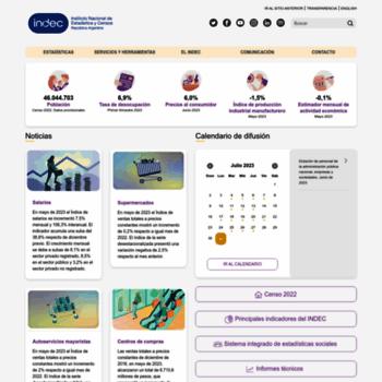 Indec.gov.ar thumbnail