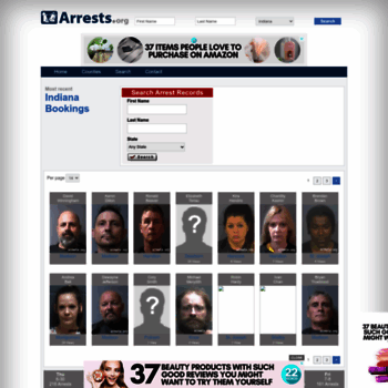 Indiana.arrests.org thumbnail