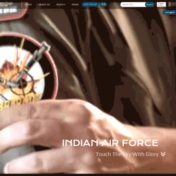 indianairforce.nic.in at WI. Home | Indian Air Force
