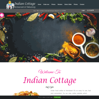 Indiancottagehorndean.co.uk thumbnail