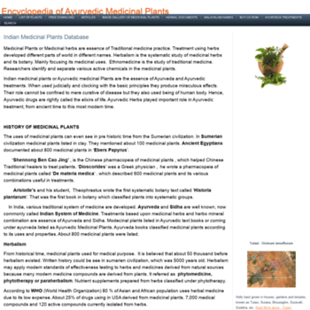 Indianmedicinalplants.info thumbnail