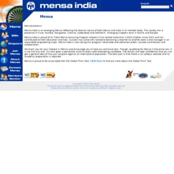 Indianmensa.org thumbnail