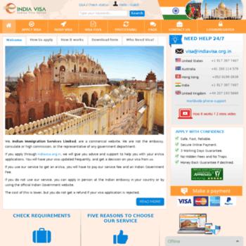 Indiavisa.org.in thumbnail