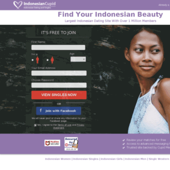 web dating indonesien hjælp min ven er dating en sociopath