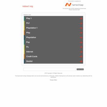 indoxx1 org at WI  indoxx1 org - Registered at Namecheap com