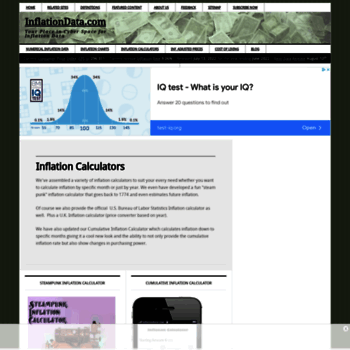 Inflationdata.com thumbnail