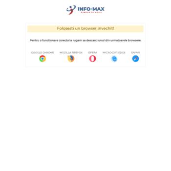 Info-max.ro thumbnail