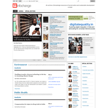 Infochangeindia.org thumbnail