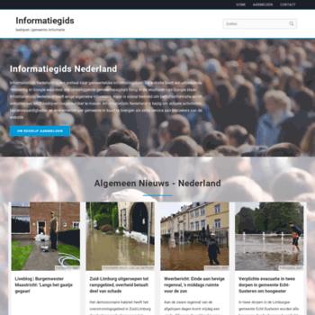 Informatiegids-nederland.nl thumbnail