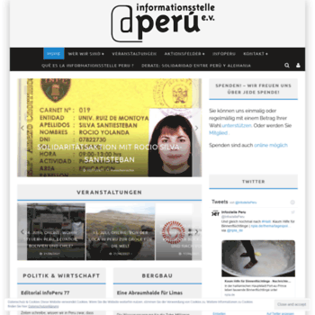 Infostelle-peru.de thumbnail