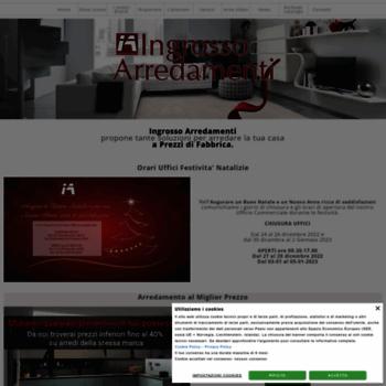 ingrosso-arredamenti.com at WI. Vendita Arredamenti completi ...