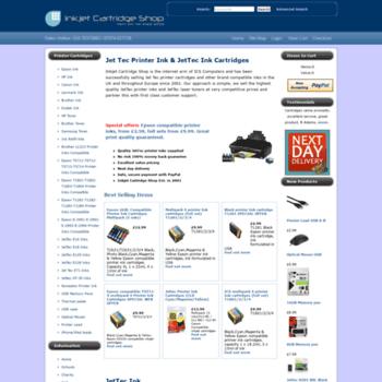 Inkjetcartridgeshop.co.uk thumbnail