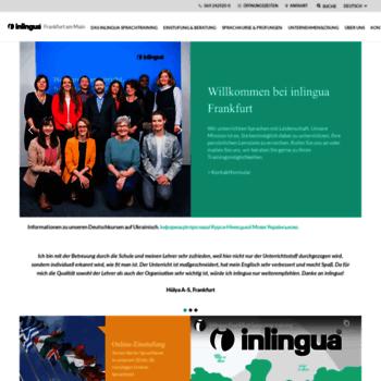 Inlingua-frankfurt.de thumbnail