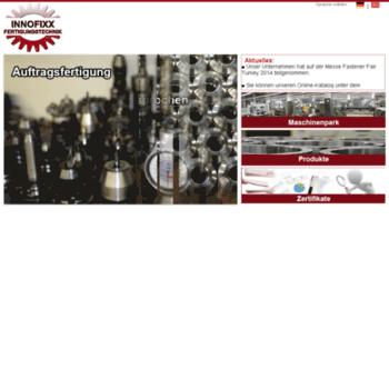 Innofixx-fertigungstechnick.de thumbnail