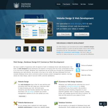 Inowebdesign.net thumbnail
