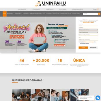 Inpahu.edu.co thumbnail