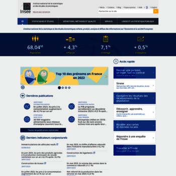 Insee.fr thumbnail