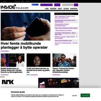 Insidetelecom.no thumbnail