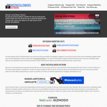 instafollowerfactory com at WI  InstaFollowers Network