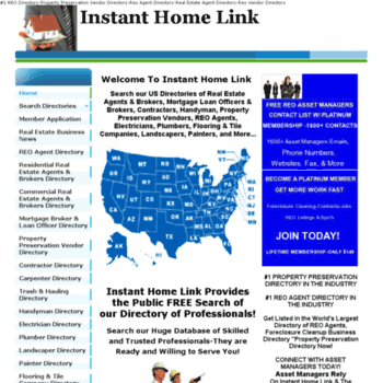 instanthomelink com at WI  Property Preservation Vendor